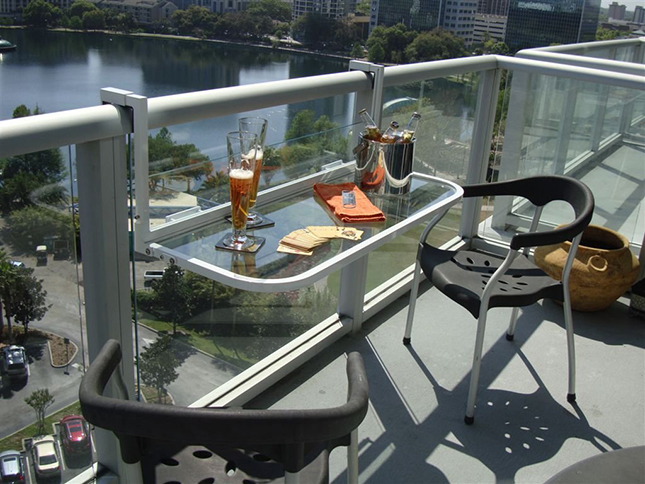 Foldable Balcony Table