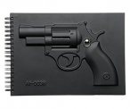 Revolver Armed Notebook