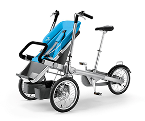Taga Bike to Stroller for less than 30 seconds