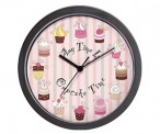 Cupcake Time Wall Clock