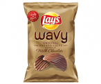 Lays Wavy Chocolate –  the chocolate covered potato chips