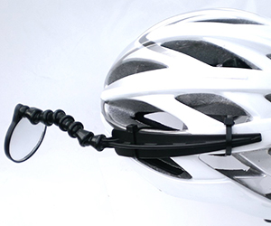 Safe Zone Bicycle Rear View Helmet Mirror