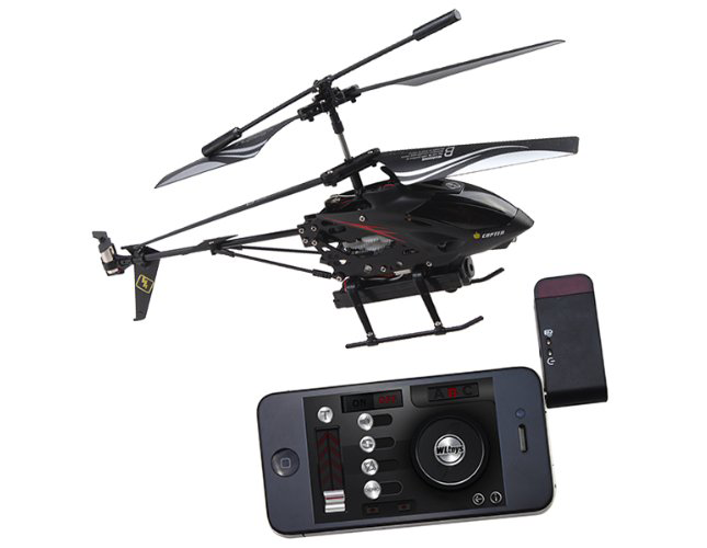 iPhone controlled Helicopter with Camera