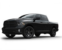 Dodge RAM 1500 Black Empress