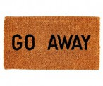 Geeky Go Away Doormat