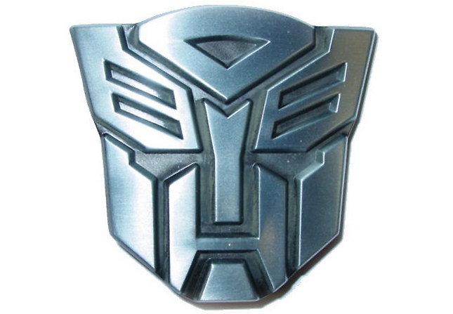 Original TRANSFORMERS Autobot Optimus Prime Belt Buckle