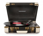 Portable Retro Turntable in a Suitcase