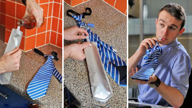 The Flask Tie for Dudes