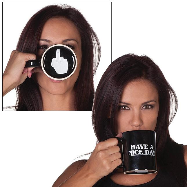 Geeky Have a Nice Day Mug