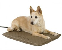 Heated Outdoor Dog Bed