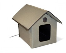 KandH Heated Outdoor Cat House