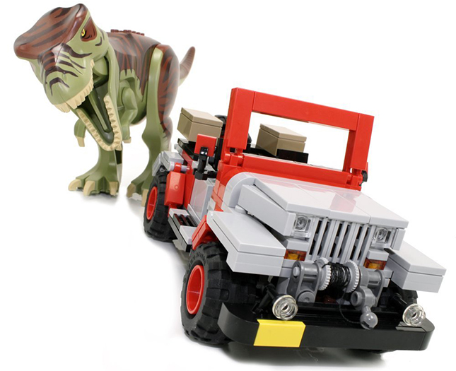 LEGO Jurassic Park Off-Roader Limited Edition