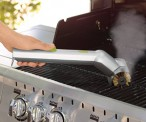 Motorized Grill Brush With Steam Cleaning Power