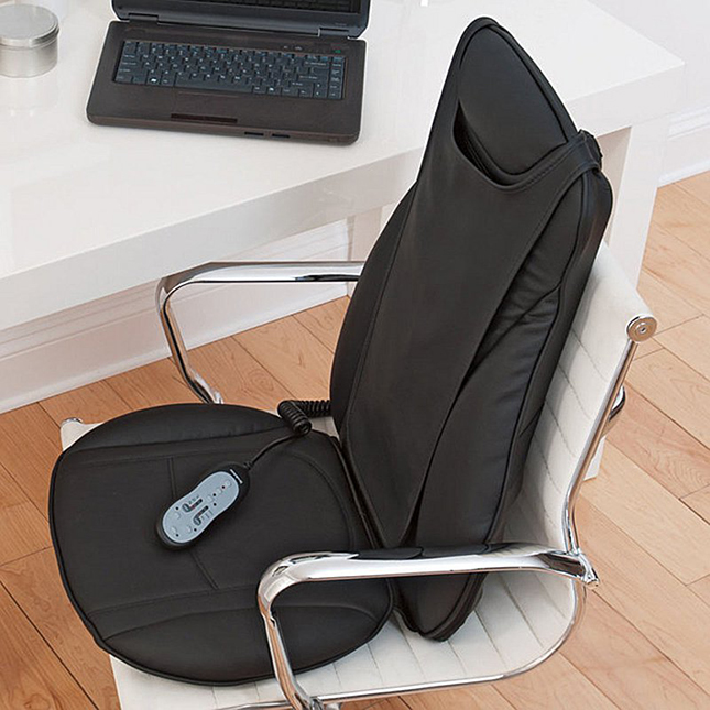 Shiatsu Seat Topper with Heat