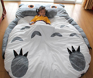 Totoro Big Bed for Kids