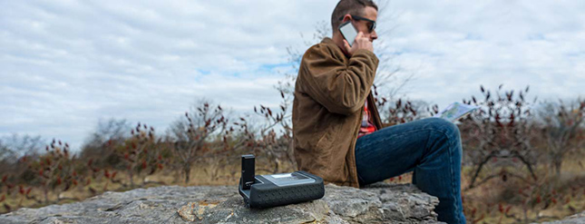 Iridium GO Reliable Global Communication Device