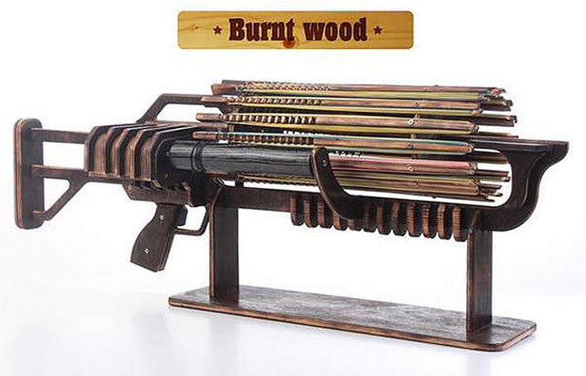 Rubber Band Machine Gun