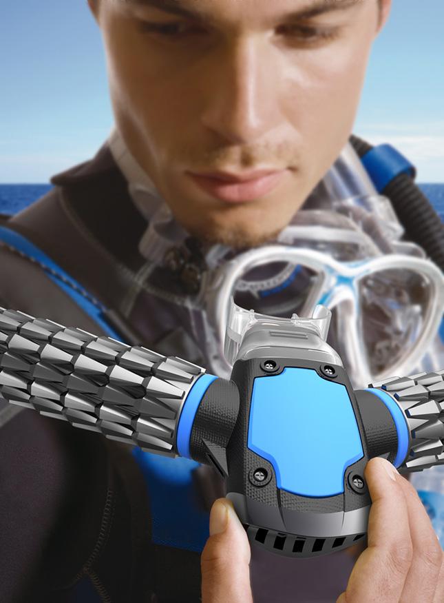 TRITON Oxygen Respirator For Underwater Breathing