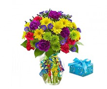 1800 Flowers It's Your Day Posy Flower Bouquet