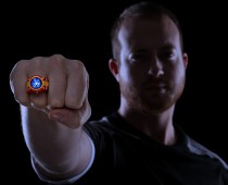 Iron Man 3 LED Ring