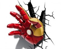 Iron Man Hand 3D Decorative Lamp