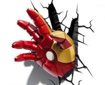 Iron Man Hand 3D Decorative Lamp