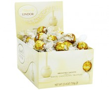 Lindor White Chocolate Truffles