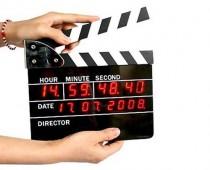 Directors Clapboard Alarm Clock