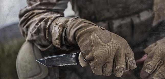 Gerber Downrange Tomahawk and Knife