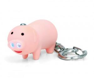 Piggie LED Keychain with Audio