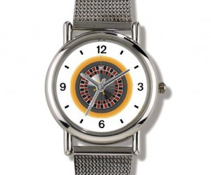 Roulette Wheel Wrist Watch
