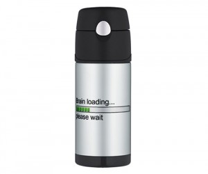 Brain Loading Please Wait Thermos