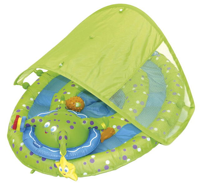 Spring Baby Float Water Center