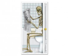 Skeleton WC Door Cover