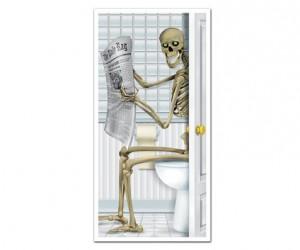 Skeleton WC Door Cover