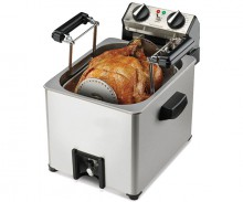 Home Rotisserie Turkey Fryer