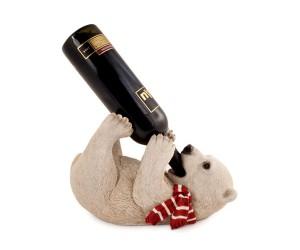 Baby Polar Bear Wine Holder