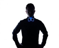 Geeky Light up Bow Tie