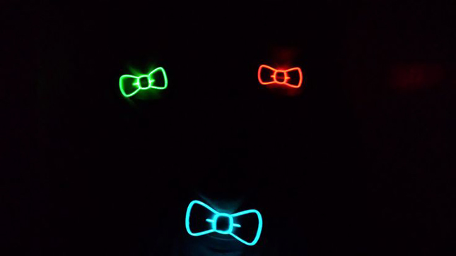 Geeky Light up Bow Tie-colors