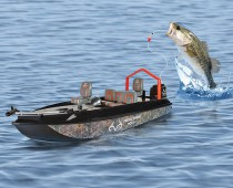 Fish Catching RC Boat