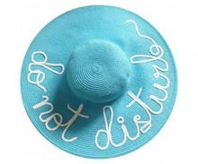 "The ""Do Not Disturb"" Sun Hat"