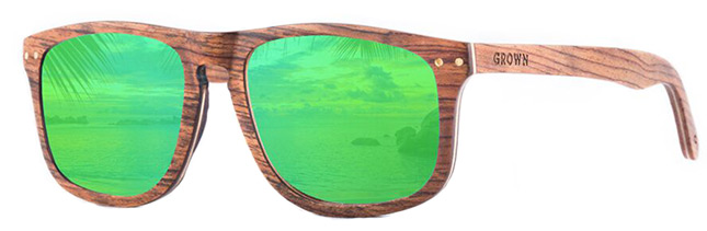 GROWN Wooden Sunglasses-2