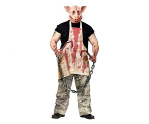 Butcher Pig Super Realistic Halloween Costume