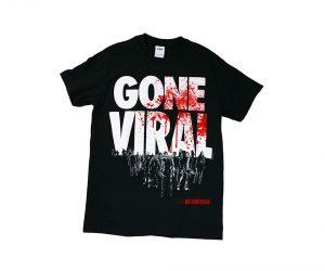 Walking Dead Gone Viral zombie T-shirt