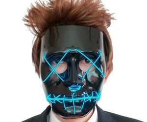 Light Up Science Monster Mask