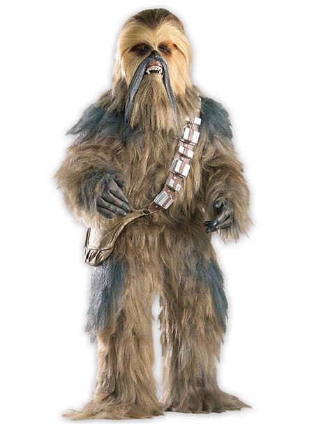 Realistic Chewbacca Costume