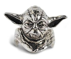 Star Wars Yoda Silver Ring