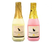 Pet Champaign - Dog Perignon for the Canines and Meow&Chandon for the Felines