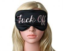 The F*ck Off sleeping mask