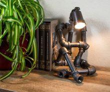 Handmade Metal Robot Lamp